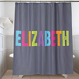 All Mine! Personalized Shower Curtain