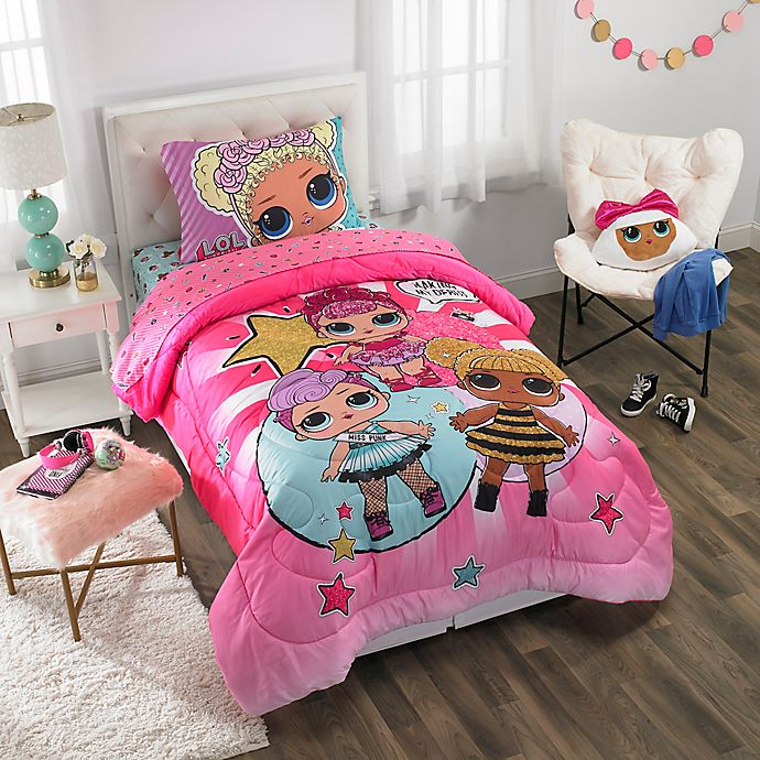Lol Surprise Twin Full Comforter In Pink Buybuy Baby