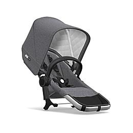 Bugaboo Donkey2 Classic Duo Extension Set in Aluminum/Grey Melange