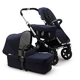 Bugaboo Donkey2 Classic Complete Stroller in Aluminum/Dark Navy