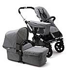 Bugaboo Donkey2 Classic Complete Stroller in Aluminum/Grey Melange