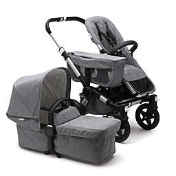 Bugaboo Donkey2 Classic Complete Stroller in Aluminum/Grey Melange