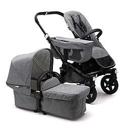 Bugaboo Donkey2 Classic Complete Stroller in Black/Grey Melange