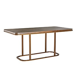 INK+IVY Stephan Rectangular Dining Table in Walnut