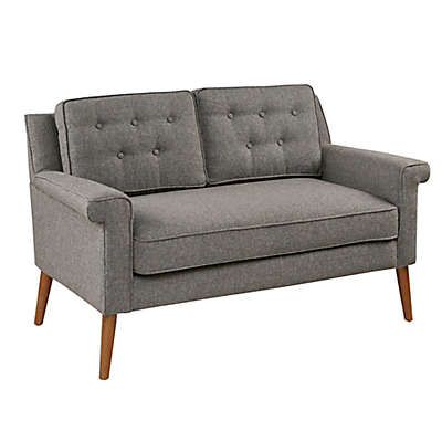 INK+IVY Dana Loveseat in Brown