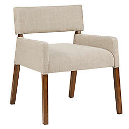 INK+IVY Blake Lounge Chair in Cream