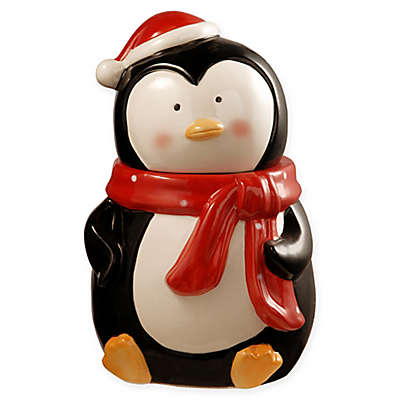 National Tree Company 10-Inch Penguin Cookie Jar