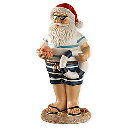 National Tree Company 10-Inch Beach Santa
