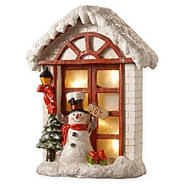 National Tree Company 10-Inch Lighted Cottage