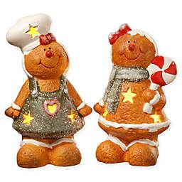 National Tree Company® LED Gingerbread Couple Holiday Decor