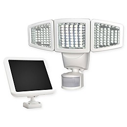 120 LED Triple Head Solar Motion Light  in White