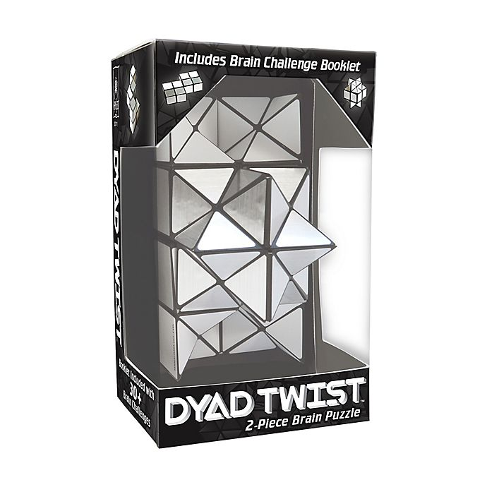 Alternate image 1 for BePuzzled Dyad Twist Brain Teaser Puzzle