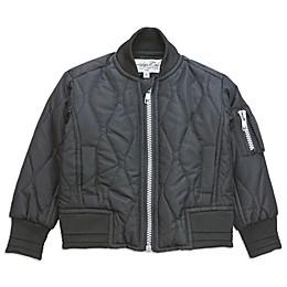 Sovereign Code™ Bomber Jacket in Black