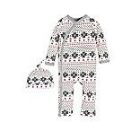 Burt's Bees Baby® Size 3M Fair Isle Kimono Coverall