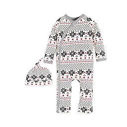 Burt's Bees Baby® Fair Isle Kimono Coverall