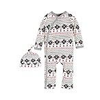 Burt's Bees Baby® Newborn Fair Isle Kimono Coverall