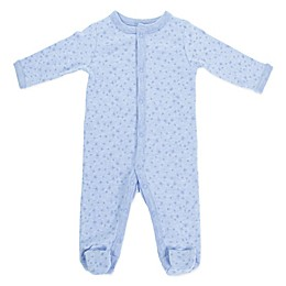 Sterling Baby Star Footie in Blue