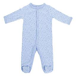 Sterling Baby Star Footie in Blue