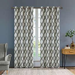 Rivoli Olivia Grommet Window Curtain Panel