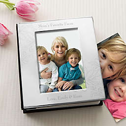 For Her Engraved Silver Photo Album