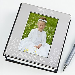 My First Communion Engraved Photo Album