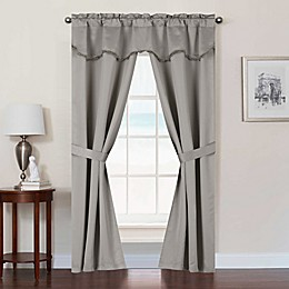 Burlington Rod Pocket Room Darkening Window Curtain Panel Set
