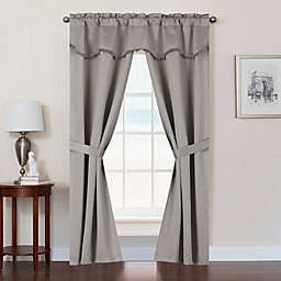 Burlington Rod Pocket Room Darkening Window Curtain Panel Set