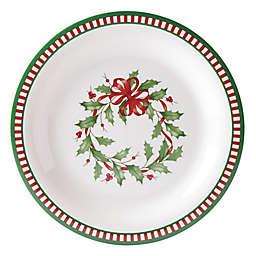Lenox® Holiday® Melamine Stripe Dinner Plates (Set of 4)
