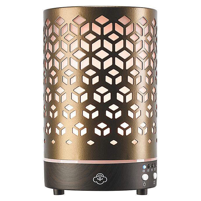 Alternate image 1 for Serene House® Lozenge Ultrasonic Aromatherapy Diffuser in Antique
