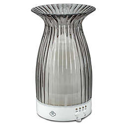 Serene House® Blossom Ultrasonic Aromatherapy Diffuser in Grey