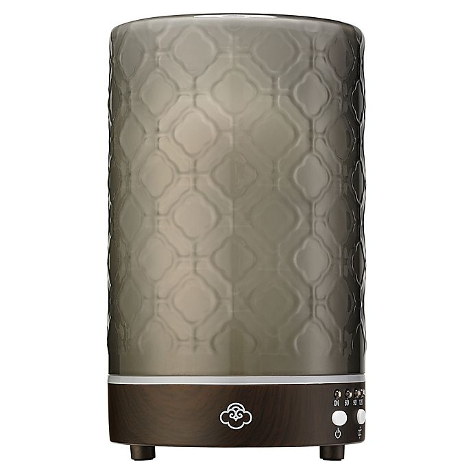 Serene House Lace Ultrasonic Aromatherapy Diffuser In Grey Bed Bath Beyond