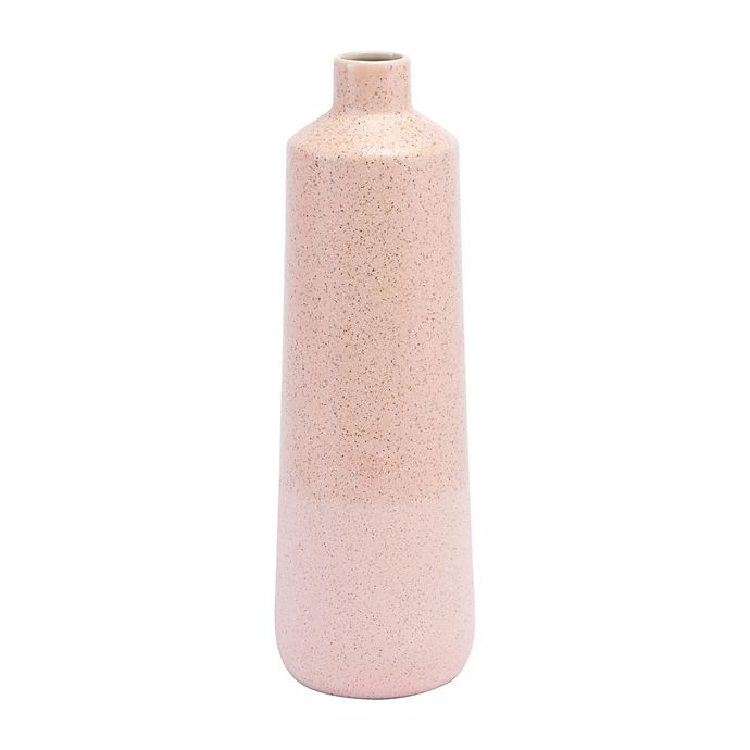 Alternate image 1 for Zuo® 16.5-Inch Two-Tone Vase in Pink