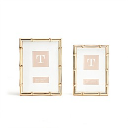 Two's Company Picture Frame Set in Rose Gold (Set of 2)