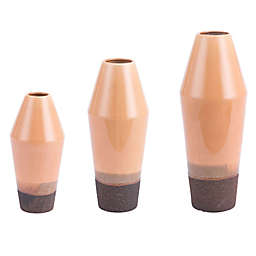 Zuo® Marsala Vase in Light Orange