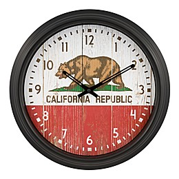 La Crosse Clock™ California Indoor/Outdoor Wall Clock