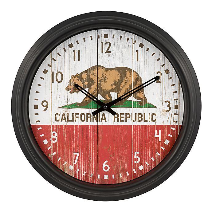 Alternate image 1 for La Crosse Clock™ California Indoor/Outdoor Wall Clock