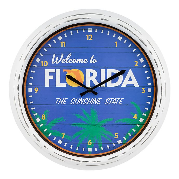 Alternate image 1 for La Crosse Clock™ Florida Indoor/Outdoor Wall Clock