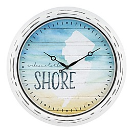 La Crosse Clock™ Jersey Shore Indoor/Outdoor Wall Clock