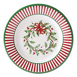 Lenox® Holiday® Melamine Stripe Accent Plates (Set of 4)