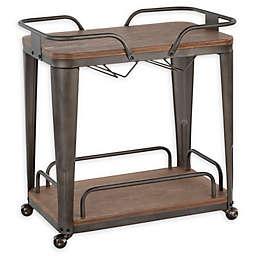 LumiSource® Oregon Industrial Bar Cart