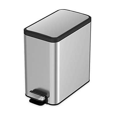 Eko® Eco-Slim Stainless Steel 8-Liter Trash Can