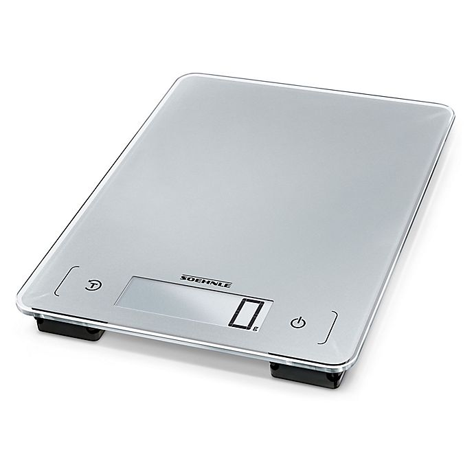 Alternate image 1 for Household Essentials® Digital Kitchen Scale in Silver