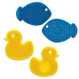 Silicone 2-Sided Scrubber Brush Collection
