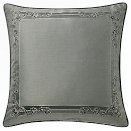 Waterford® Dimitrios European Pillow Sham in Charcoal