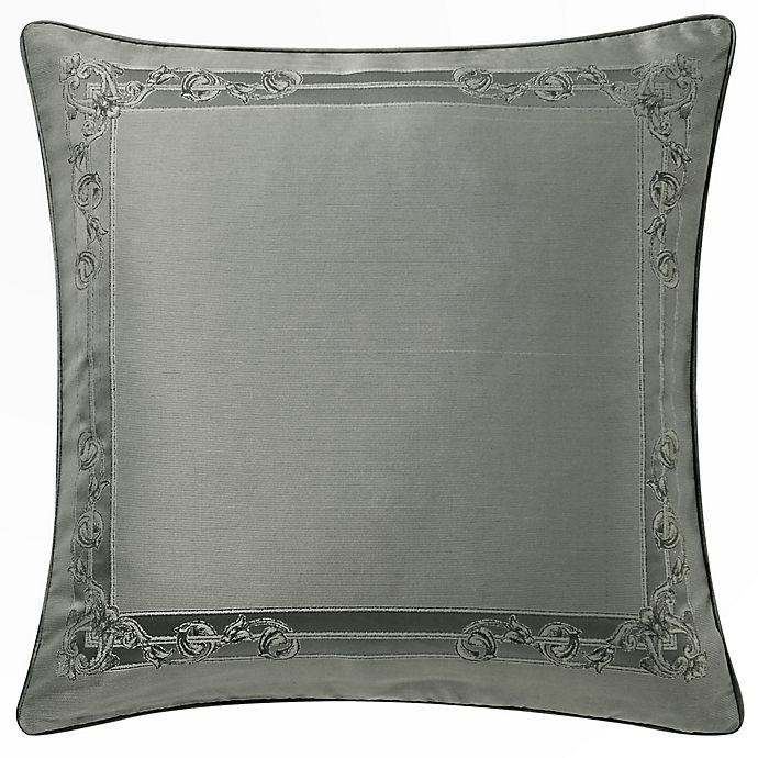 Alternate image 1 for Waterford® Dimitrios European Pillow Sham in Charcoal