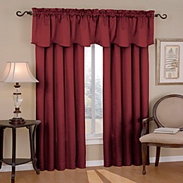 Eclipse Canova Rod Pocket Room Darkening Valance
