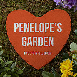 Expressions Personalized Heart Garden Stone