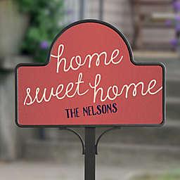 Front Door Greetings Personalized Magnetic Garden Sign