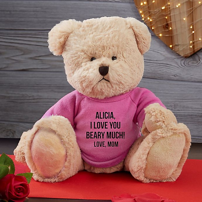 Alternate image 1 for Write Your Own Personalized Teddy Bear