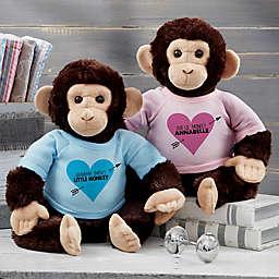Lil' Monkey Personalized Plush Monkey
